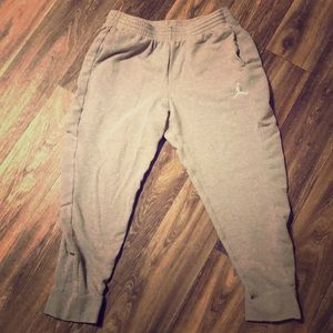 Men's Gray Jordan Sweatpants Size XXL